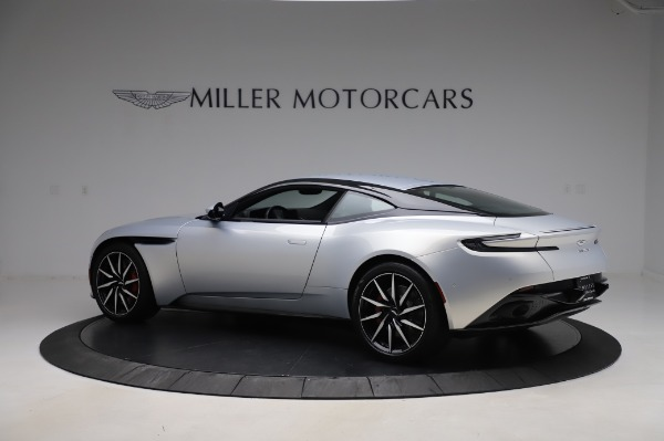 Used 2018 Aston Martin DB11 V8 Coupe for sale $147,900 at Bugatti of Greenwich in Greenwich CT 06830 3