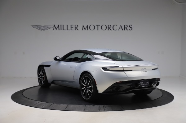 Used 2018 Aston Martin DB11 V8 Coupe for sale $147,900 at Bugatti of Greenwich in Greenwich CT 06830 4