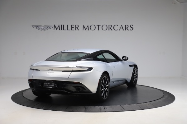 Used 2018 Aston Martin DB11 V8 Coupe for sale $147,900 at Bugatti of Greenwich in Greenwich CT 06830 6