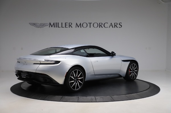 Used 2018 Aston Martin DB11 V8 Coupe for sale $147,900 at Bugatti of Greenwich in Greenwich CT 06830 7