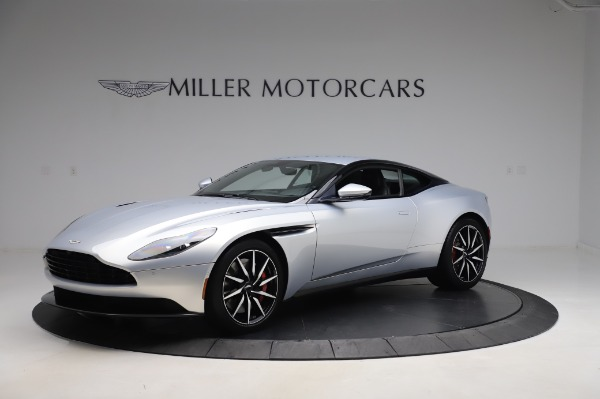 Used 2018 Aston Martin DB11 V8 Coupe for sale $147,900 at Bugatti of Greenwich in Greenwich CT 06830 1