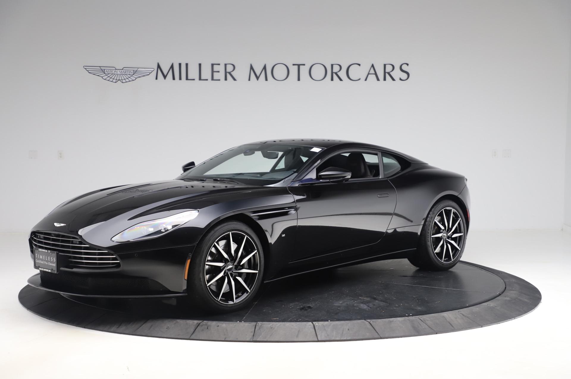 Used 2017 Aston Martin DB11 V12 for sale $149,900 at Bugatti of Greenwich in Greenwich CT 06830 1