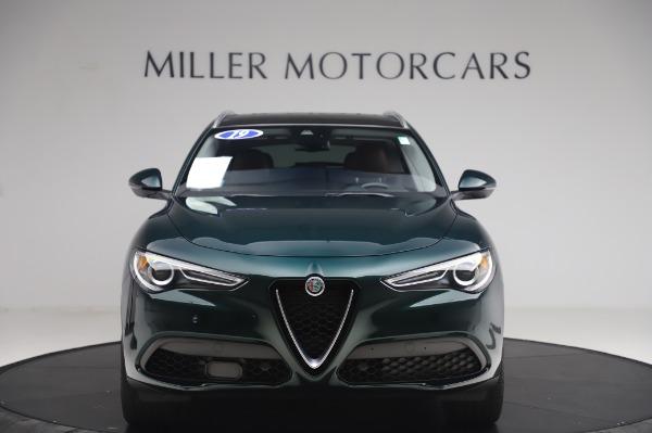 Used 2019 Alfa Romeo Stelvio Ti Lusso for sale Call for price at Bugatti of Greenwich in Greenwich CT 06830 12