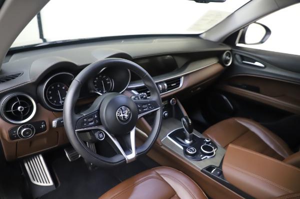 Used 2019 Alfa Romeo Stelvio Ti Lusso for sale Call for price at Bugatti of Greenwich in Greenwich CT 06830 13