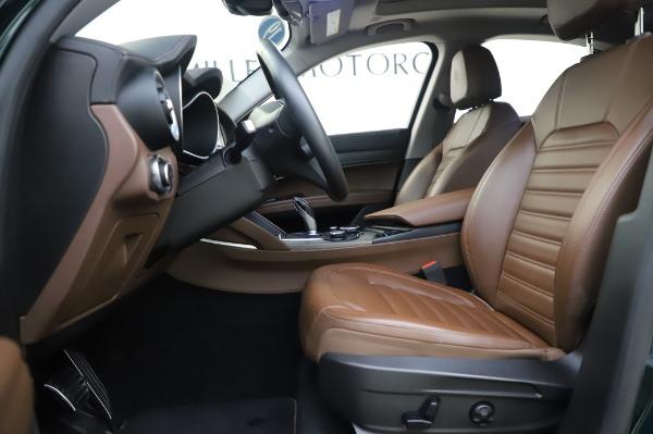 Used 2019 Alfa Romeo Stelvio Ti Lusso for sale Call for price at Bugatti of Greenwich in Greenwich CT 06830 14