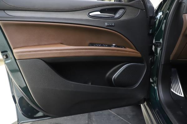 Used 2019 Alfa Romeo Stelvio Ti Lusso for sale Call for price at Bugatti of Greenwich in Greenwich CT 06830 17
