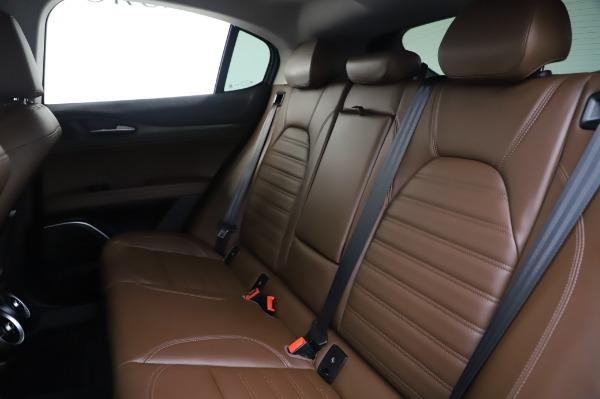Used 2019 Alfa Romeo Stelvio Ti Lusso for sale Call for price at Bugatti of Greenwich in Greenwich CT 06830 18