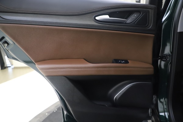 Used 2019 Alfa Romeo Stelvio Ti Lusso for sale Call for price at Bugatti of Greenwich in Greenwich CT 06830 21
