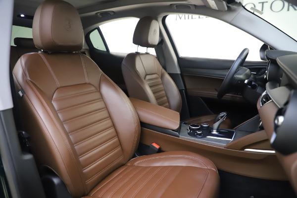 Used 2019 Alfa Romeo Stelvio Ti Lusso for sale Call for price at Bugatti of Greenwich in Greenwich CT 06830 22