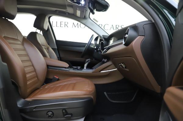 Used 2019 Alfa Romeo Stelvio Ti Lusso for sale Call for price at Bugatti of Greenwich in Greenwich CT 06830 23