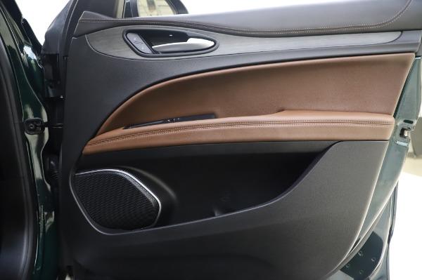Used 2019 Alfa Romeo Stelvio Ti Lusso for sale Call for price at Bugatti of Greenwich in Greenwich CT 06830 25