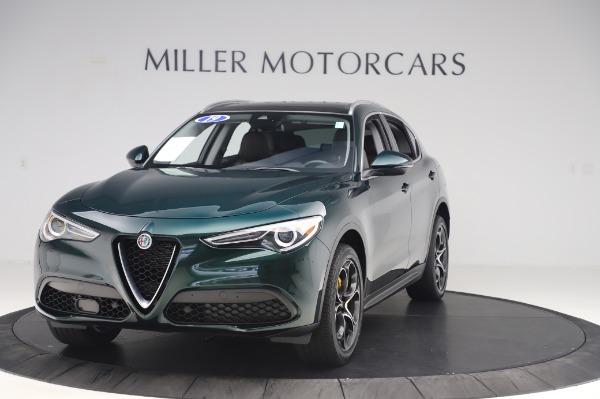 Used 2019 Alfa Romeo Stelvio Ti Lusso for sale Call for price at Bugatti of Greenwich in Greenwich CT 06830 1