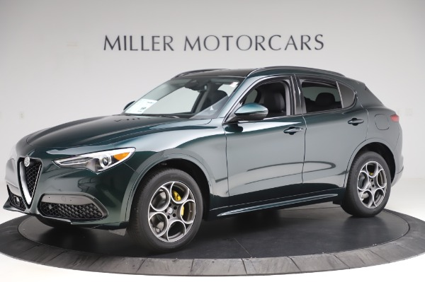 New 2020 Alfa Romeo Stelvio Sport Q4 for sale Sold at Bugatti of Greenwich in Greenwich CT 06830 2