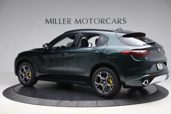 New 2020 Alfa Romeo Stelvio Sport Q4 for sale Sold at Bugatti of Greenwich in Greenwich CT 06830 4
