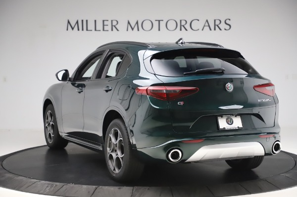 New 2020 Alfa Romeo Stelvio Sport Q4 for sale Sold at Bugatti of Greenwich in Greenwich CT 06830 5
