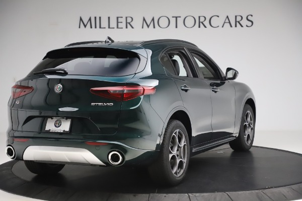 New 2020 Alfa Romeo Stelvio Sport Q4 for sale Sold at Bugatti of Greenwich in Greenwich CT 06830 7