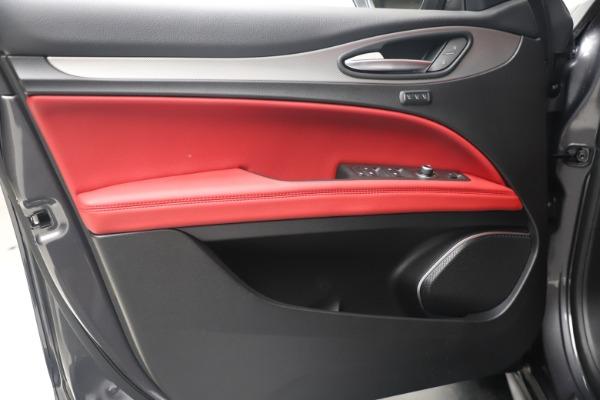New 2020 Alfa Romeo Stelvio Ti Sport Q4 for sale Sold at Bugatti of Greenwich in Greenwich CT 06830 17