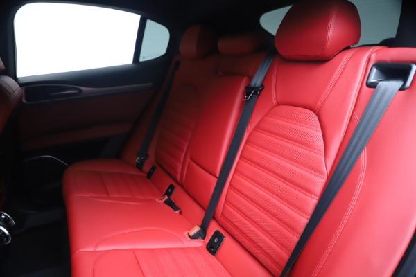 New 2020 Alfa Romeo Stelvio Ti Sport Q4 for sale Sold at Bugatti of Greenwich in Greenwich CT 06830 18