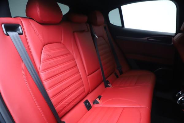 New 2020 Alfa Romeo Stelvio Ti Sport Q4 for sale Sold at Bugatti of Greenwich in Greenwich CT 06830 26