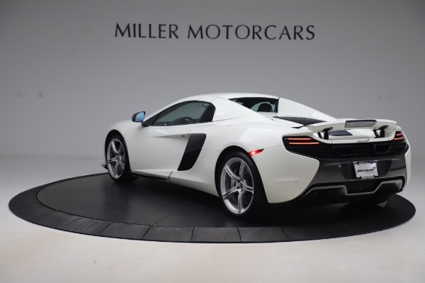 Used 2016 McLaren 650S Spider for sale $152,900 at Bugatti of Greenwich in Greenwich CT 06830 12