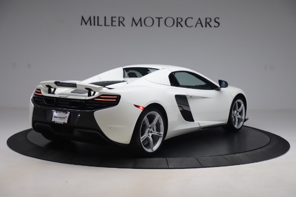 Used 2016 McLaren 650S Spider for sale $152,900 at Bugatti of Greenwich in Greenwich CT 06830 14