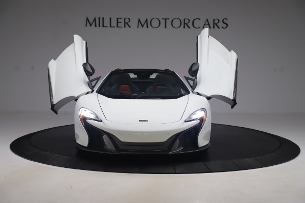 Used 2016 McLaren 650S Spider for sale $152,900 at Bugatti of Greenwich in Greenwich CT 06830 17