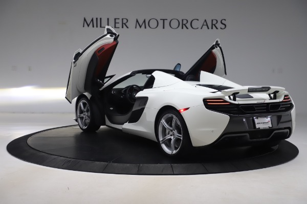 Used 2016 McLaren 650S Spider for sale $152,900 at Bugatti of Greenwich in Greenwich CT 06830 18