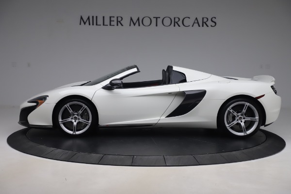 Used 2016 McLaren 650S Spider for sale $152,900 at Bugatti of Greenwich in Greenwich CT 06830 2