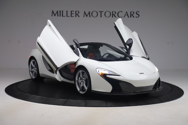 Used 2016 McLaren 650S Spider for sale $152,900 at Bugatti of Greenwich in Greenwich CT 06830 21