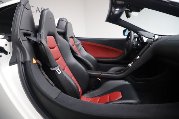 Used 2016 McLaren 650S Spider for sale $152,900 at Bugatti of Greenwich in Greenwich CT 06830 22