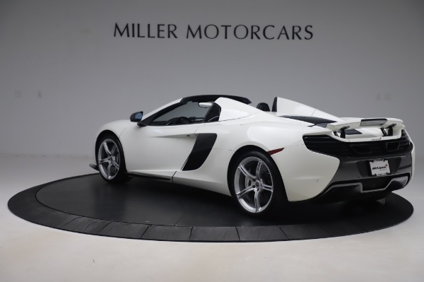 Used 2016 McLaren 650S Spider for sale $152,900 at Bugatti of Greenwich in Greenwich CT 06830 3