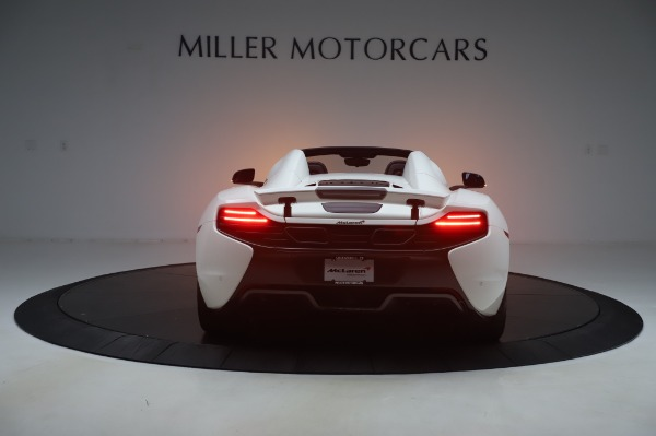 Used 2016 McLaren 650S Spider for sale $152,900 at Bugatti of Greenwich in Greenwich CT 06830 4