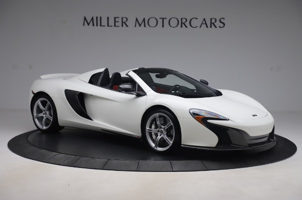 Used 2016 McLaren 650S Spider for sale $152,900 at Bugatti of Greenwich in Greenwich CT 06830 7
