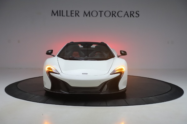 Used 2016 McLaren 650S Spider for sale $152,900 at Bugatti of Greenwich in Greenwich CT 06830 8