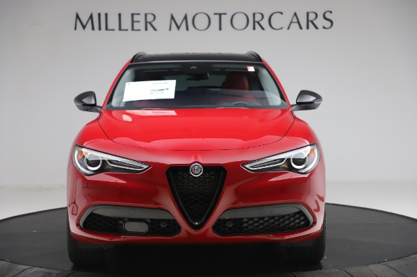 New 2020 Alfa Romeo Stelvio Sport Q4 for sale $50,195 at Bugatti of Greenwich in Greenwich CT 06830 12