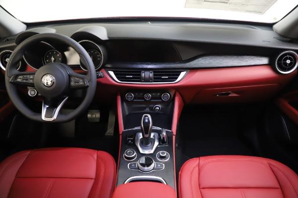 New 2020 Alfa Romeo Stelvio Sport Q4 for sale $50,195 at Bugatti of Greenwich in Greenwich CT 06830 16