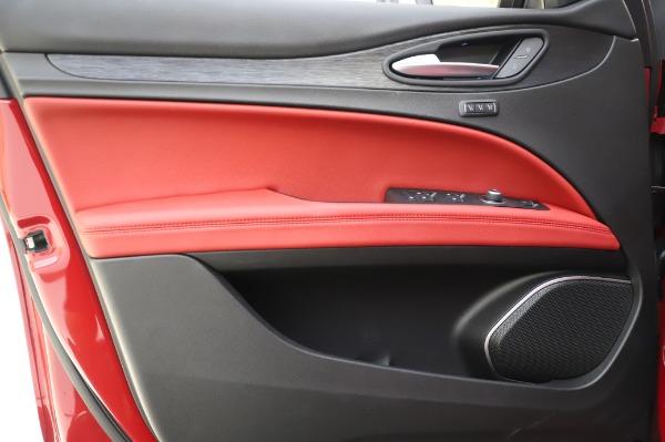 New 2020 Alfa Romeo Stelvio Sport Q4 for sale $50,195 at Bugatti of Greenwich in Greenwich CT 06830 17
