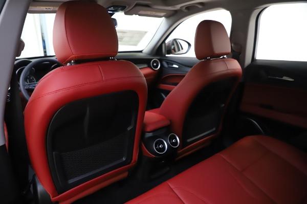 New 2020 Alfa Romeo Stelvio Sport Q4 for sale $50,195 at Bugatti of Greenwich in Greenwich CT 06830 20