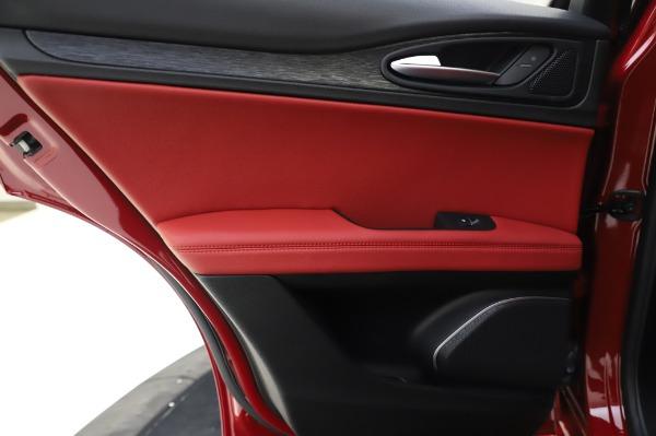 New 2020 Alfa Romeo Stelvio Sport Q4 for sale $50,195 at Bugatti of Greenwich in Greenwich CT 06830 21