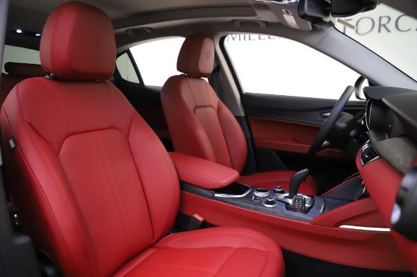New 2020 Alfa Romeo Stelvio Sport Q4 for sale $50,195 at Bugatti of Greenwich in Greenwich CT 06830 22