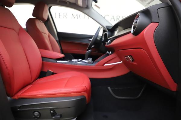 New 2020 Alfa Romeo Stelvio Sport Q4 for sale $50,195 at Bugatti of Greenwich in Greenwich CT 06830 23