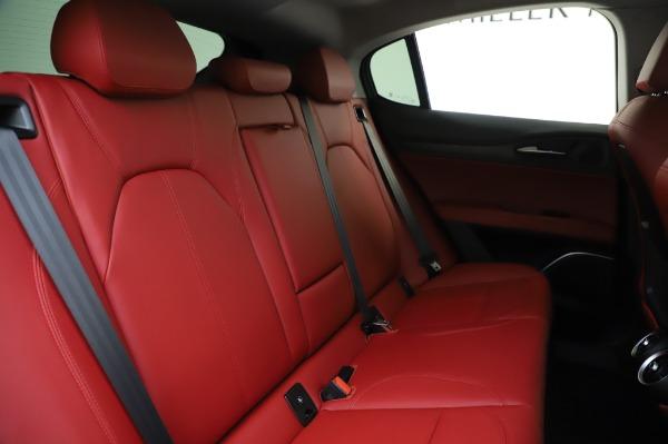 New 2020 Alfa Romeo Stelvio Sport Q4 for sale $50,195 at Bugatti of Greenwich in Greenwich CT 06830 26