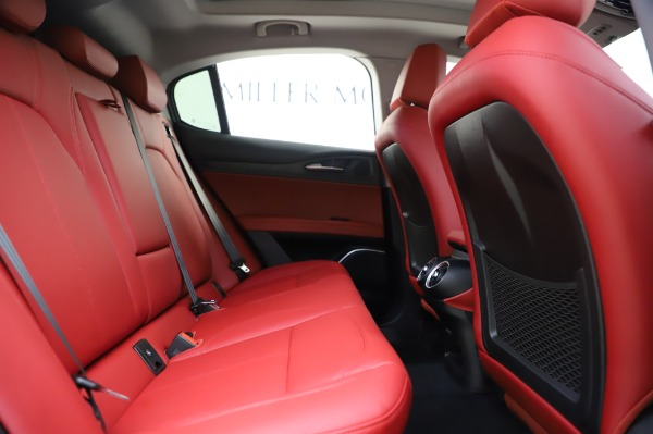 New 2020 Alfa Romeo Stelvio Sport Q4 for sale $50,195 at Bugatti of Greenwich in Greenwich CT 06830 27