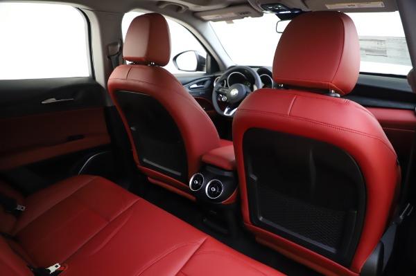 New 2020 Alfa Romeo Stelvio Sport Q4 for sale $50,195 at Bugatti of Greenwich in Greenwich CT 06830 28