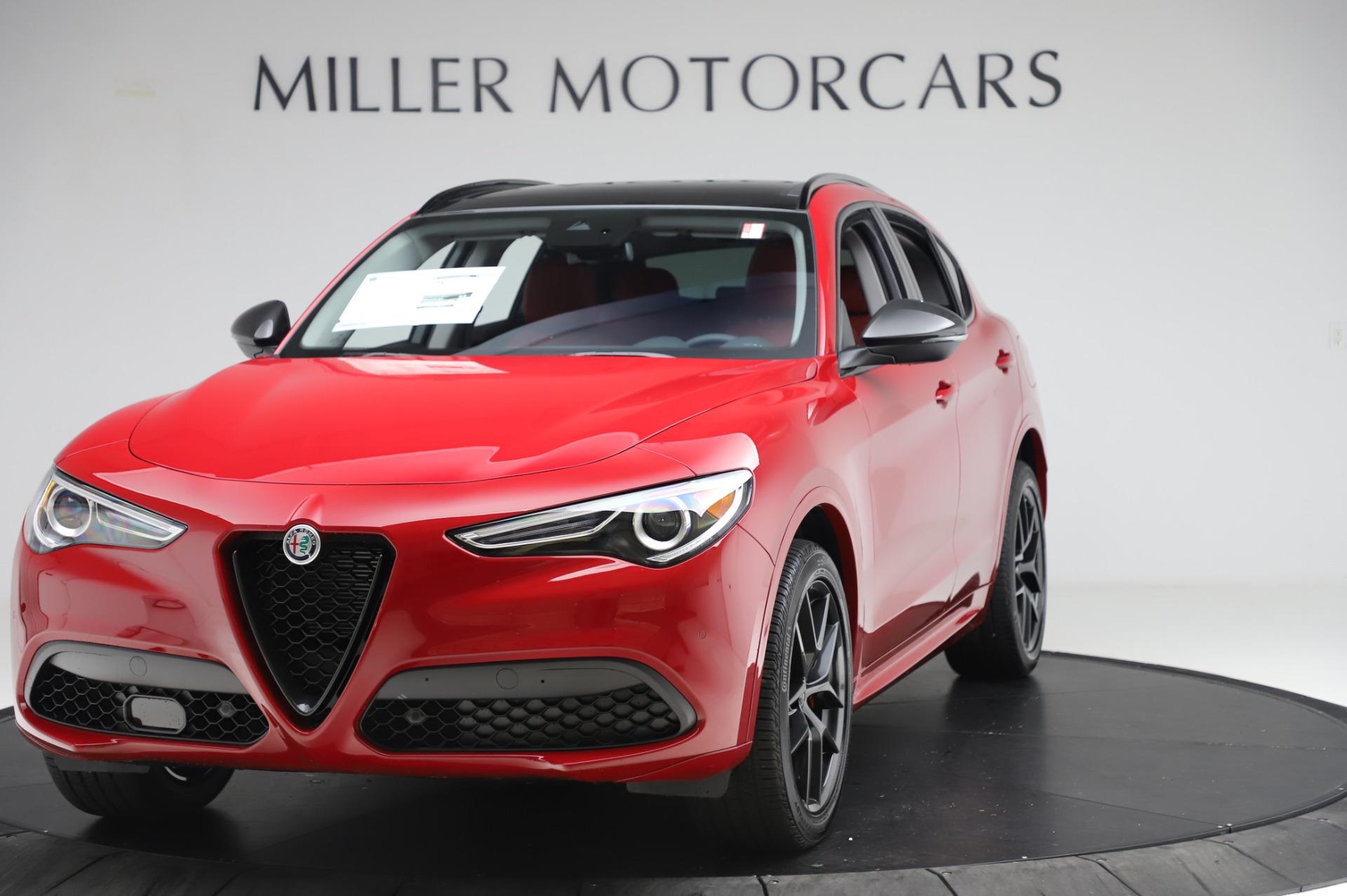 New 2020 Alfa Romeo Stelvio Sport Q4 for sale $50,195 at Bugatti of Greenwich in Greenwich CT 06830 1
