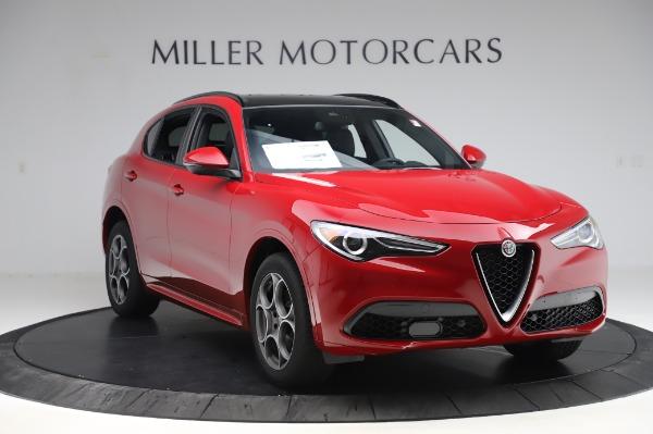 New 2020 Alfa Romeo Stelvio Sport Q4 for sale $50,645 at Bugatti of Greenwich in Greenwich CT 06830 11