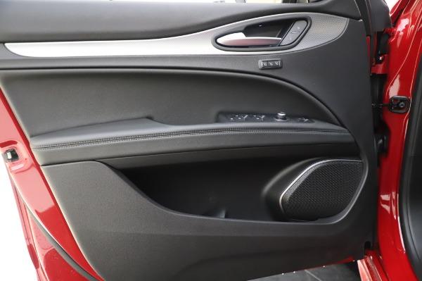 New 2020 Alfa Romeo Stelvio Sport Q4 for sale $50,645 at Bugatti of Greenwich in Greenwich CT 06830 17