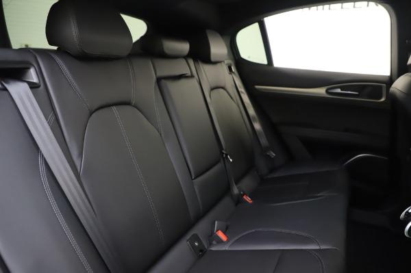 New 2020 Alfa Romeo Stelvio Sport Q4 for sale Sold at Bugatti of Greenwich in Greenwich CT 06830 25