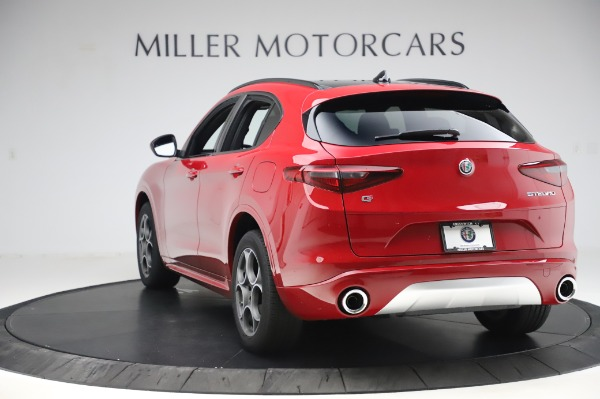 New 2020 Alfa Romeo Stelvio Sport Q4 for sale $50,645 at Bugatti of Greenwich in Greenwich CT 06830 5