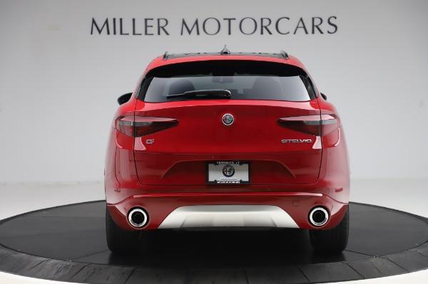 New 2020 Alfa Romeo Stelvio Sport Q4 for sale $50,645 at Bugatti of Greenwich in Greenwich CT 06830 6